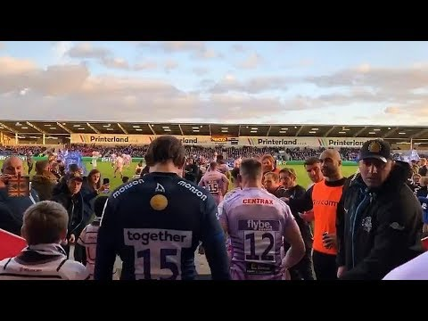 Sale Sharks vs Exeter Game Day highlights