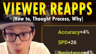 I can't believe the amount of speed I got him (Returning player's Reapps) - Summoners War