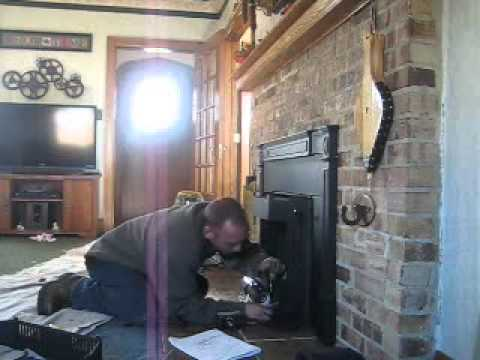 Installing Quadra Fire 4100i Wood Burning Insert Youtube