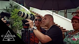 Daddy Yankee ft. J Alvarez - El Amante Making of the Video