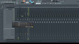 FL Studio Tutorial - Sidechain Delay on Vocals (buses & Sends)