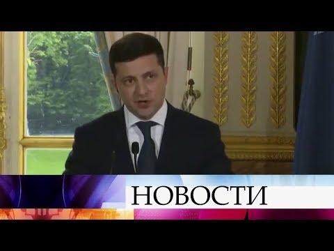 Украинский президент отказывается вести переговоры с самопровозглашенными республиками Донбасса.