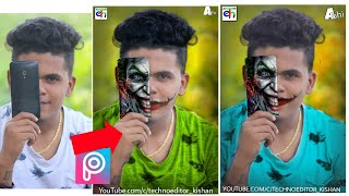 Joker On Face | PicsArt Editing Tutorial YouTube Why are you so serious joker face manipulation easy