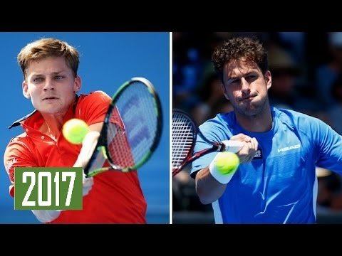 David Goffin vs Robin Haase Highlights DOHA 2017  grigor dimitrov vs kei nishikori