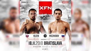 Ľudovít Klein vs Arbi Mezhidov | XFN 14 Bratislava