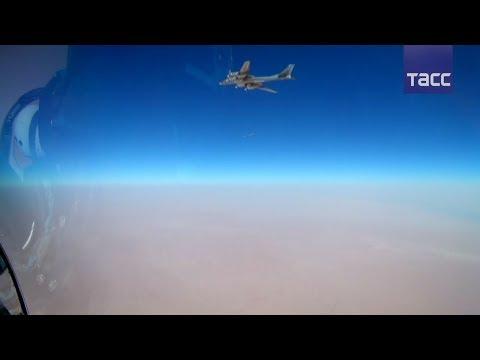 Видео удара российских Ту-95МС по ИГ* в Сирии