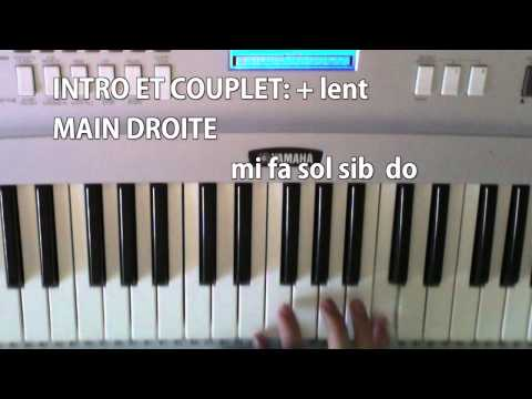 partition piano tal pas toi
