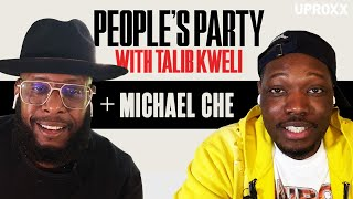 Talib Kweli & Michael Che Talk SNL, Kanye West, Wrestlemania, Top 5 Sketches | People's Party Full