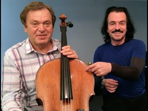 YANNI: Master Class with Alexander Zhiroff (Sasha) on cello.