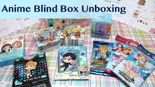 Anime Mystery Blind Box & Cards - Unboxing