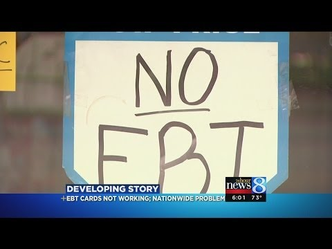 EBT card system down statewide
