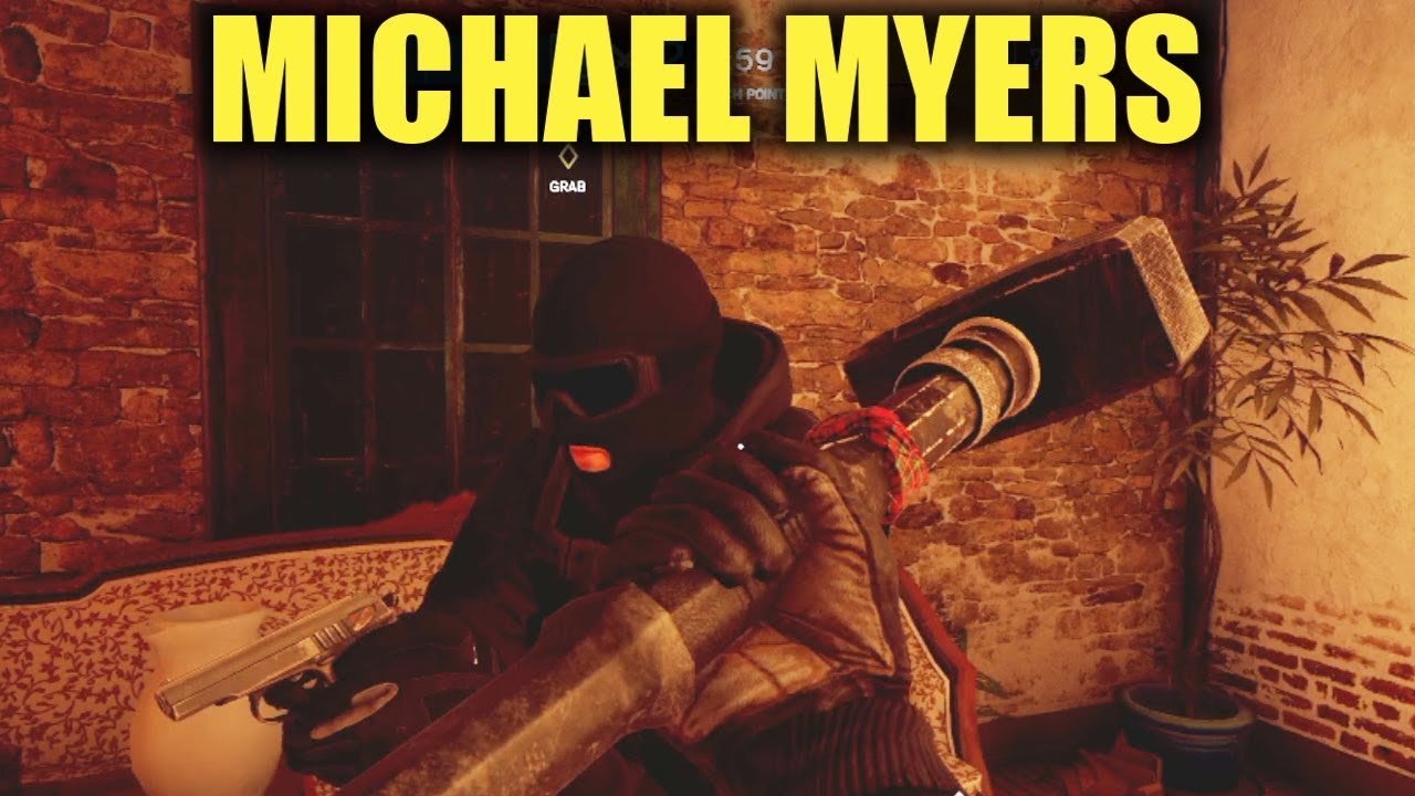 152441f87b6a0 MICHAEL MYERS ON VILLA! - Rainbow Six Siege - YouTube