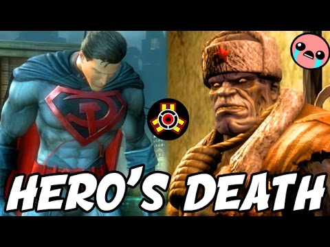 "Injustice: DEATH OF A TRUE HERO! - Injustice ""Superman"" Gameplay S.T.A.R Labs Mission"
