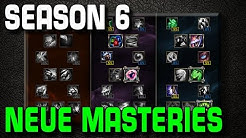 Season 6 - Masteries Änderungen | League of Legends