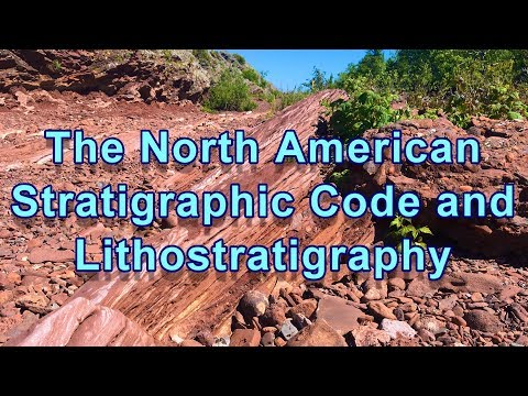 Geo-Files:  The North American Stratigraphic Code and Lithos