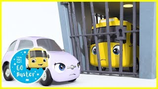 Buster Goes To Jail Song! | Go Buster | Baby Cartoons |  ABCs and 123s