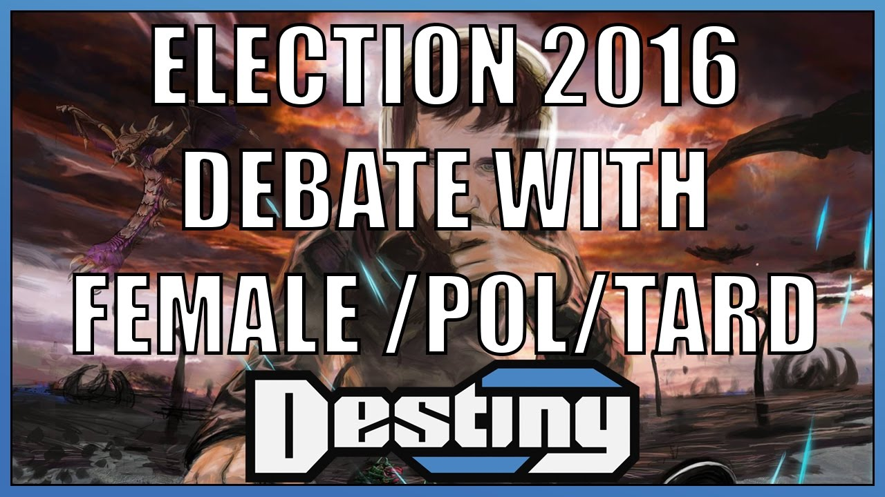 Destiny debates a female Trump supporter from 4chan's /pol/ board