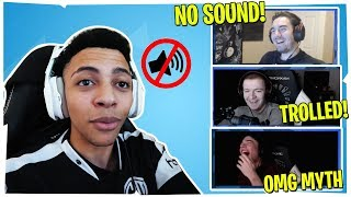 STREAMERS REACT TO MYTHS AUDIO DISAPPEARING MID-GAME IN KOREAN FORTNITE TOURNAMENT!