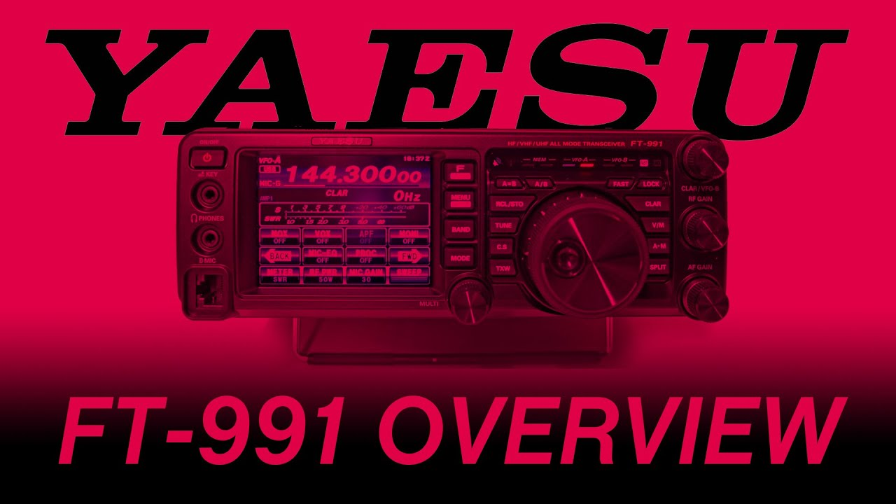 Yaesu Ft 991 Overview With Steve Venner At Ml S Youtube
