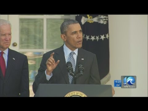 President Obama speaks about health care sign ups