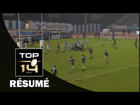 TOP 14 - Résumé Racing 92-Bayonne: 59-20 - J16 - Saison 2016/2017