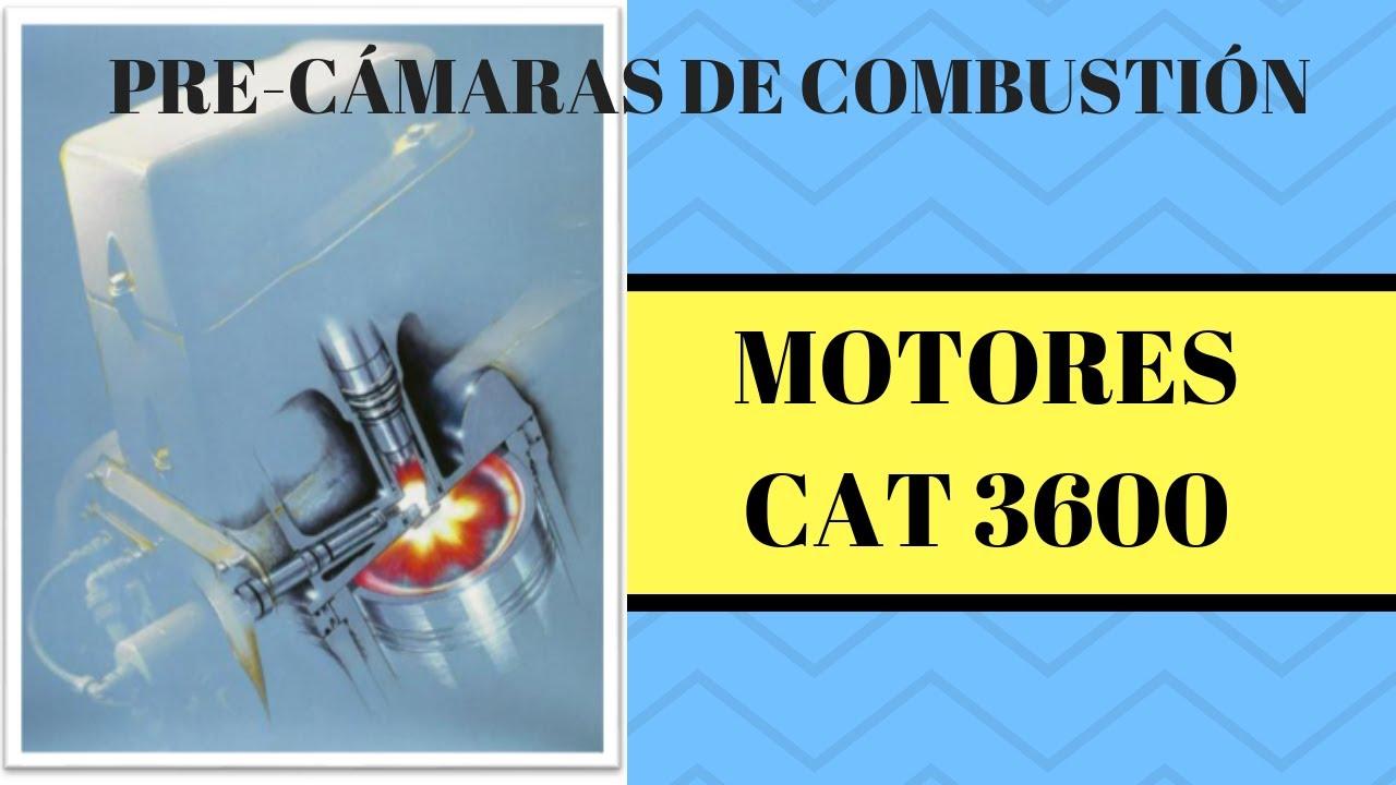 MOTORES CAT G3600 PRECAMARAS DE COMBUSTION