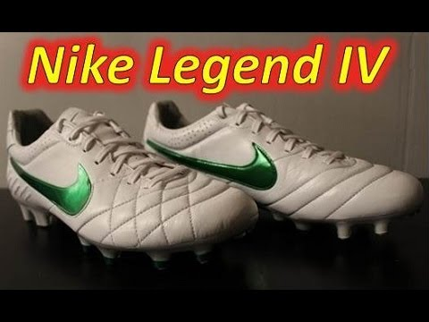 d0f5722a26d1 Nike Tiempo Legend IV - White Court Green Metalic Silver Unboxing ...