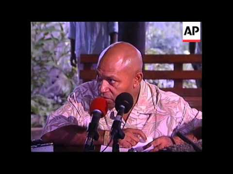 FIJI: SPEIGHT AND MILITARY STAND OFF CONTINUES