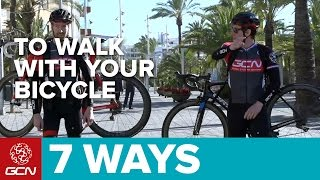 7 Magnificent Ways To Walk With Your Bicycle