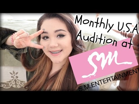 My S.M. Monthly USA Audition Experience!!