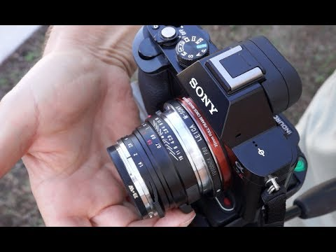 a7r voigtlander lens manual focus demo youtube rh youtube com Best Lenses for Sony Alpha Lens for Sony Alpha Mount