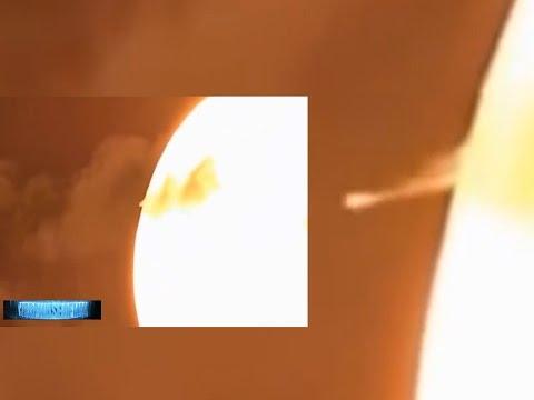 NASA BEWILDERED!! INTERSTELLAR UFO HARVEST ENERGY FROM SUN! BEYOND COMPREHENSION 5/22/2016