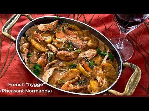 Cold Weather Cooking: Pheasant (or chicken) Normandy Stew