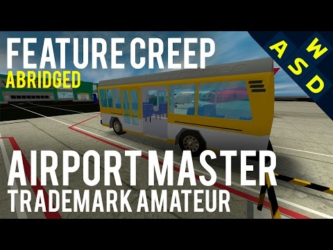 Airport Master Vs Jim Sterling Trademark Claim | Feature Creep Abridged By Tarmack
