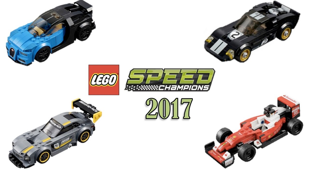 lego speed champions 2017 winter sets images youtube. Black Bedroom Furniture Sets. Home Design Ideas