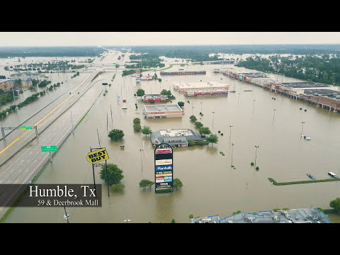 Hurricane Harvey 2017 - Drone Footage