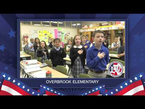 The Morning Pledge - Overbrook School - 1/4/19