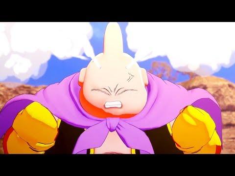 Dragon Ball Z: Kakarot Full Majin Buu Saga All Cutscenes (Game Movie) DBZ Kakarot 2020
