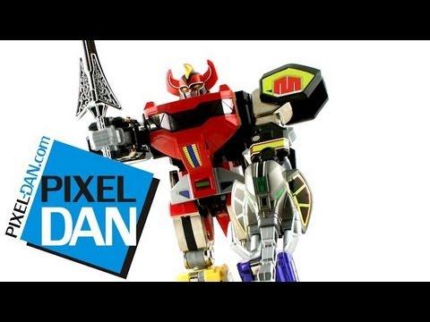 Bandai Mighty Morphin Power Rangers Legacy Megazord Video Review