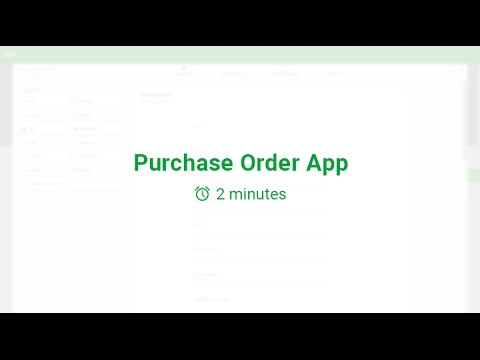 Purchase Order Workflow |  KiSSFLOW