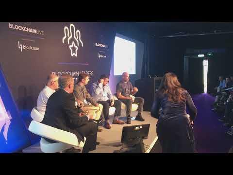 Panel - Joe Lubin (ConsenSys), Daniel Larimer (EOS), Kevin Hobbs (Vanbex), Marcus Treacher (Ripple)