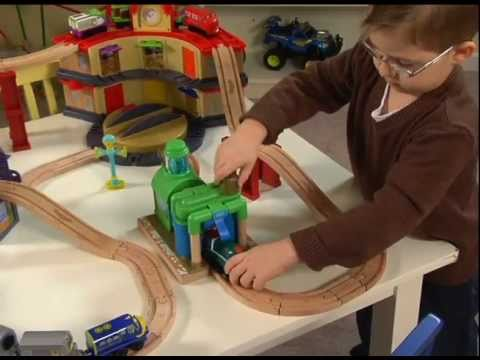 Chuggington Wooden Railway System - YouTube