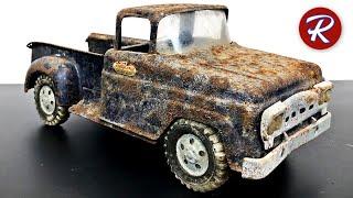 1960's Stepside Tonka Pickup Truck Restoration