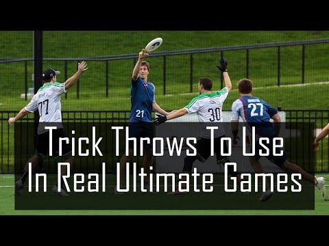 Trick Throws You Should Use In Ultimate Frisbee