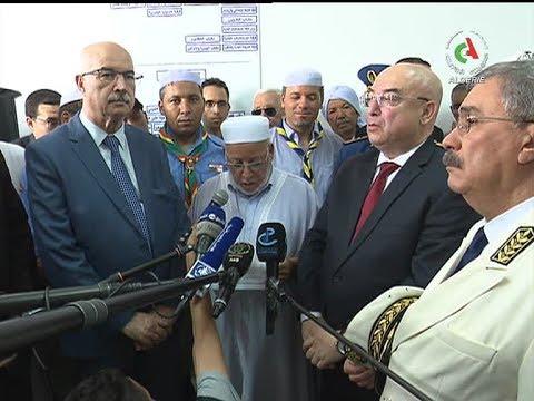 Les Détails De La Visite Du Ministre De L'Intérieur Salaheddine Dahmoune à Ghardaia