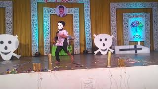 Horror theme dance by Rachit