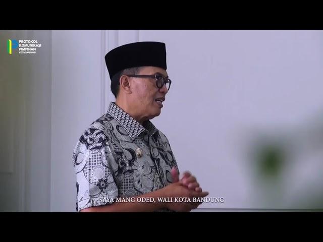 Ucapan selamat datang Dari Wali Kota Bandung