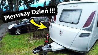 Pierwszy Dzień z Nową Przyczepą Kempingową !!! - Jak mieszka się w przyczepie TABBERT?  (Vlog #273)