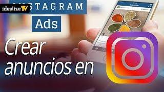 Como crear anuncios / publicidad para Instagram