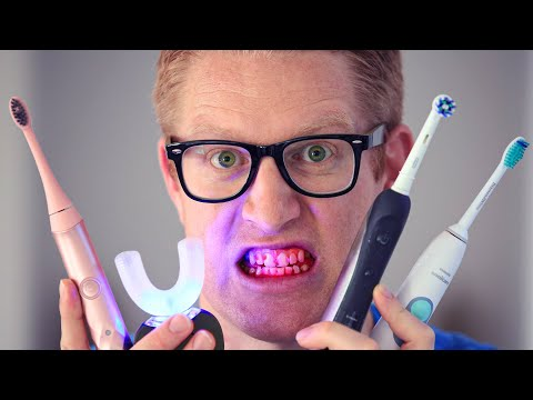 THE BEST TOOTHBRUSH! For PLAQUE, GUM DISEASE, BRACES. ELECTRIC ORAL-B Vs. SONICARE Vs. BURST Review